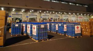 18,000 China-aided oxygen cylinders arrive at Tatopani checkpoint