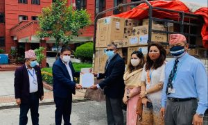 Covid-19 Nepal: Standard Chartered Bank donates medical equipment to govt
