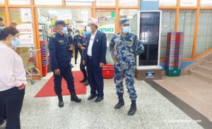 Kathmandu lockdown: Bhatbhateni manager detained for opening grocery section in the daytime