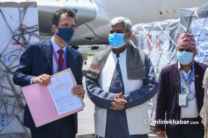 Covid-19 Nepal: France sends medical equipment including masks and test kits