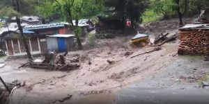 Manang hit hard by floods and landslides; nearly 100 houses submerged
