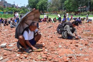 Lockdown deprives Kathmandu's poor of job and makes them beg for food: A case in point