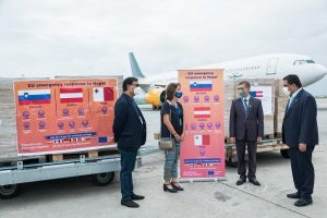 Covid-19 Nepal: Govt receives medical aid from Slovenia, Austria and Malta