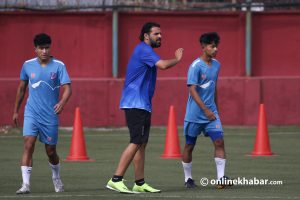 Abdullah Al Mutairi: Giving a facelift to Nepal football, the coach wants to end his stint with SAFF victory