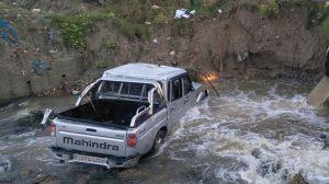 1 killed as pickup truck falls into Dhanusha stream
