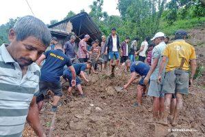 Landslide kills 2 in Gorkha
