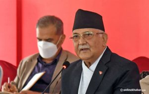 PM Oli: As many Covid-19 vaccines as needed will be available from next week