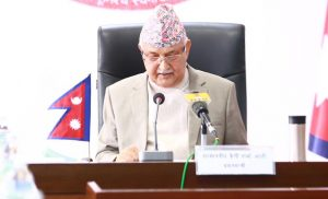 Outgoing PM Oli repeats hubris and vituperation in his valedictory speech