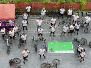 My Kora Challenge: Kathmandu's annual cycling event goes across Nepal, spreading hopes