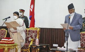 New PM, ministers sworn-in: Here's the detail of Deuba's opening cabinet