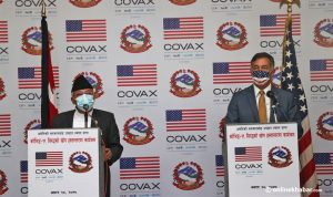 1.5 million doses of J&J Covid-19 vaccines arrive in Nepal from the USA