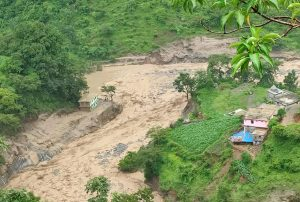 3 killed in Darchula landslides, hydropower structures washed away