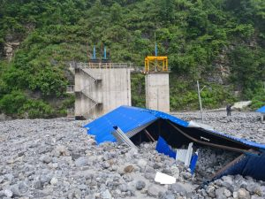 June flood incurred loss worth Rs 2 billion in Melamchi Water Supply Project
