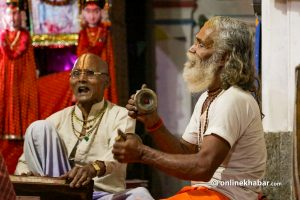 Bhajans are popular in Nepal, but the industry hasn't been commercialised