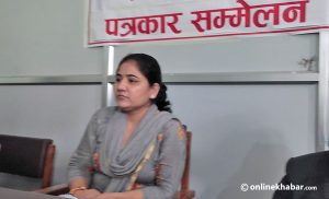Lumbini: Maoist lawmaker Bimala Oli accuses CM Pokhrel of holding her hostage