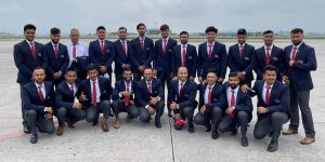 Nepal cricket team leave for Oman for World Cup League 2