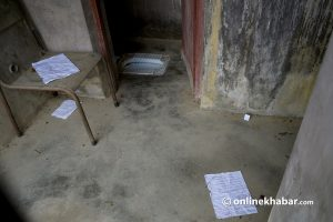 Troubles with toilets at Tribhuvan University: When they will end remains unanswered for years