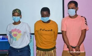 3 foreigners arrested in possession of 3 kg cocaine