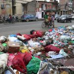 Kathmandu waste problem: PM urges road department chief to clear ways immediately