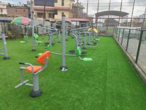 Gyms are going wide and open in Nepal thanks to local governments, private businesses and communities