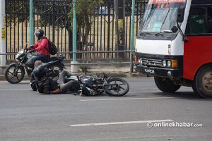 Kathmandu recorded a high number of road accidents during the lockdown. Is it safe other times?