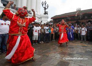Aakash Bhairav Naach: Indra Jatra's key element that often gets overshadowed