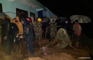 3 killed in Gulmi landslide