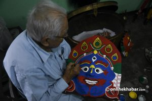 7 generations on, this family is giving the face to Kathmandu's Indra Jatra. It will continue for at least a few decades