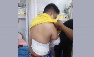 Biratnagar trader attacked with khukuri in broad daylight