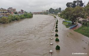 Heavy rain in Kathmandu: Police report 382 houses inundated, many roads and parks waterlogged