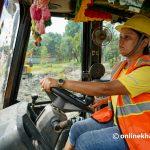 10 women prepare to operate heavy equipment to aid Nepal development