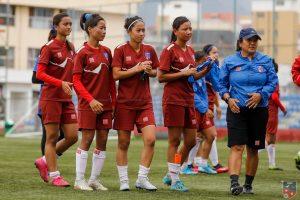Nepal women football team to play 2 friendlies against Bangladesh
