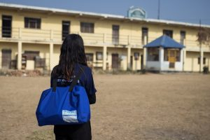 Educase: This startup sells you bags that you can also use as desks