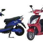 4 electric scooters and bikes from Bella Motors in the Nepali market