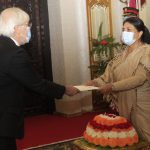 4 new ambassadors to Nepal present letters of credence