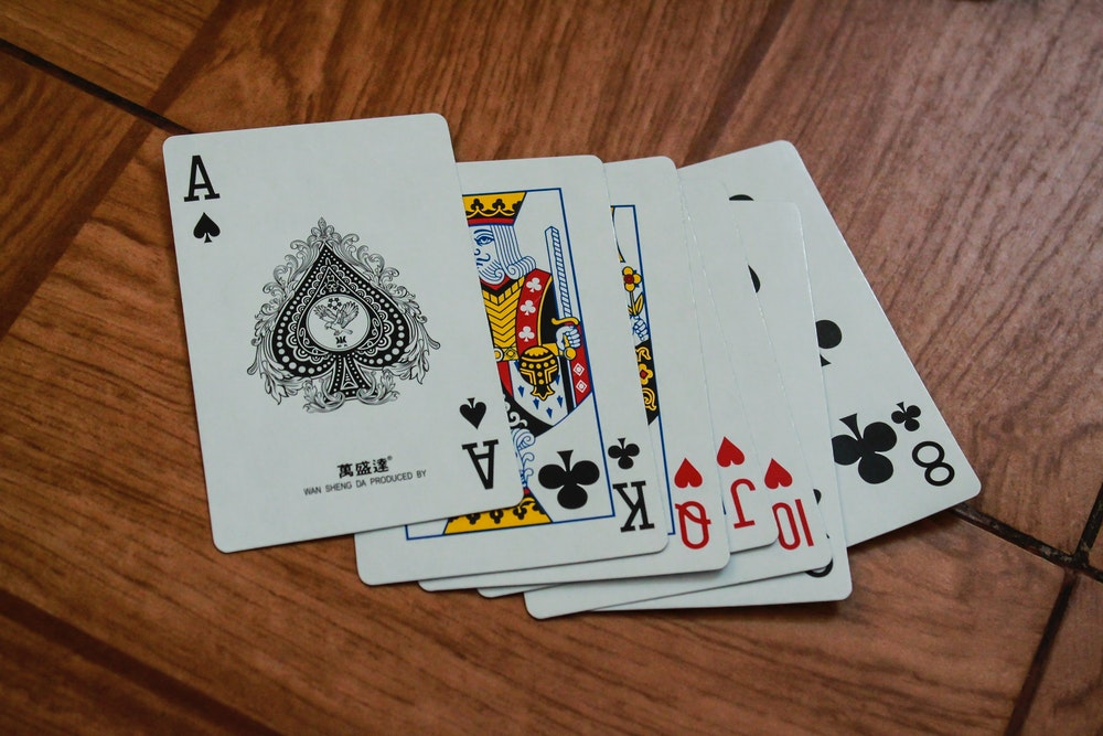 playing cards in dashain