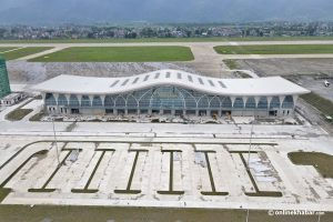 Pokhara's new airport to operate domestic flights from January, international ones from April